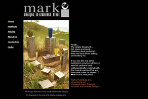 Click to Visit Marke Designs in Stainless Steel