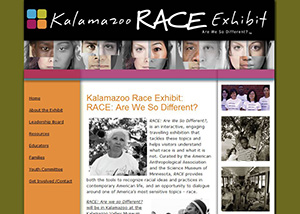 understanding race - kalamazoo valley museum exhibit - race relations and racial information